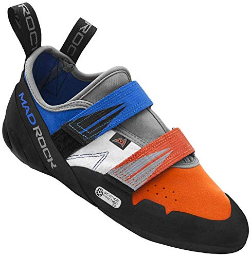 Mad Rock Agama Climbing Shoe - Blue/Orange 12