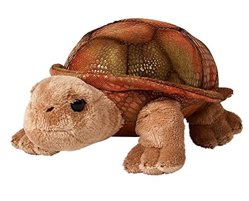 Uni-Toys - Riesenschildkröte - 21 cm (Länge) - Schildkröte, Wildtier - Plüschtier, Kuscheltier