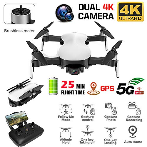 BYEEEt C-Fly credo-5G WiFi FPV 4K Videocamera HD GPS Brushless Hover Drone 3 Assi RC