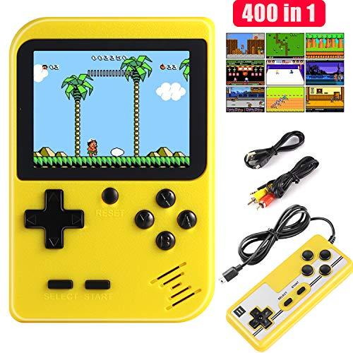 Diswoe Consoles De Jeux Portable, Console de Jeu Retro FC, avec 1 Joystick...