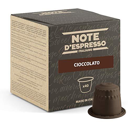 Note d'Espresso - Chocolate - Cápsulas compatibles con Cafe