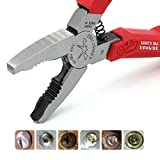 VAMPLIERS World's Best Pliers 6.25' VT-001 Screw Extraction Pliers for Rusted/damage/stripped/security/Specialty screws nuts and bolts, Makes the best Gift (6.25' VamPLIERS)
