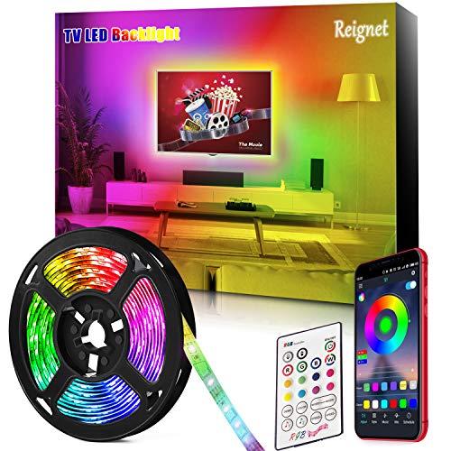 Retroilluminazione LED TV, 3.5M luci led tv per TV 46-65 pollici, specchio, PC, controllo APP per...