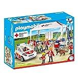 Playmobil 9537DRK Supply Tente avec Ambulance d'urgence véhicule