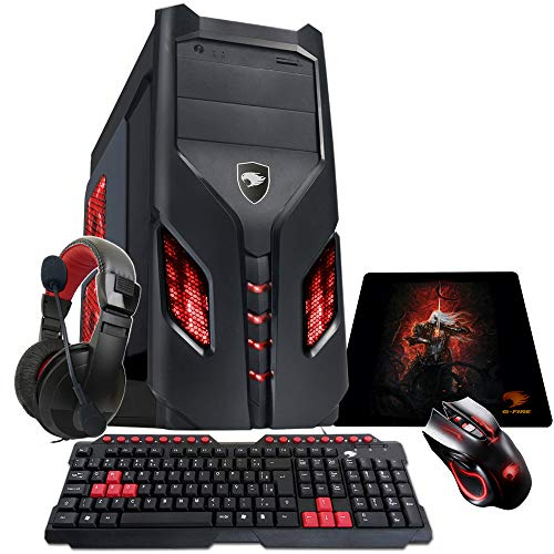 Pc Gamer G-Fire Htg-96 AMD A6 7480 8Gb (Radeon R5 2Gb Integrada) 1Tb
