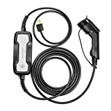 LEFANEV EV Charger Level 2 Cable (100-250V, 25FT) Portable EVSE Electric Vehicle Charging Station for All SAE J1772 American Standard(10/16A)