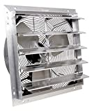VES Exhaust / Intake Fan, 3 Speed Shutter Fan with 9 Foot Cord for Indoor or Outdoor Ventilation (12 Inches)