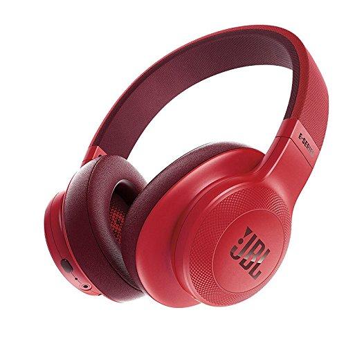 JBL Unisex's E55BT - Cuffie senza fili, colore: rosso, taglia: L