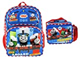 Thomas and Friends 16 Inch Deluxe 3D Backpack & Matching Lunch Box