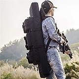 VULID Funda para Armas Largas, Estuche De Rifle Estuche De Escopeta Suave con Peso Ligero Y Pesado para El Almacenamiento De Rifles Individuales (Size : 42inch)