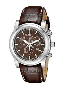 Citizen Men's Eco-Drive Chronograph Watch with Date, AT0550-11X