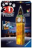Ravensburger - Puzzle 3D - Building - Big Ben illuminé - 12588