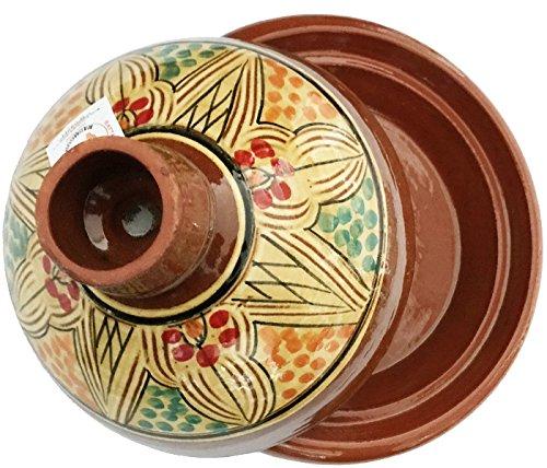marocstore, pentola ideale per cucinare il piatto tipico marocchino tajine, diametro di 30 cm, per...