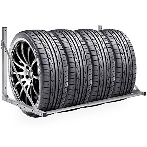 Best Choice Products Steel Wall Mount Folding Tire Wheel...