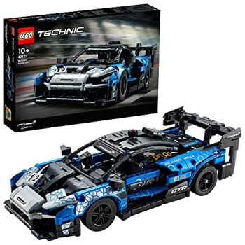 LEGO42123TechnicMcLarenSennaGTRRacingSportsCarCollectibleModel,VehicleConstructionSet