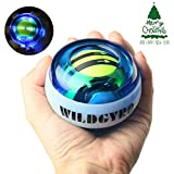 DOTSOG Wrist Trainer Exercises Power Ball Wrist&Forearm Strengthener Essential Auto-Start Spinner Gyro Ball with LED Lights for Wrist excreise,Without Pull String(with Digital LCD Counter)