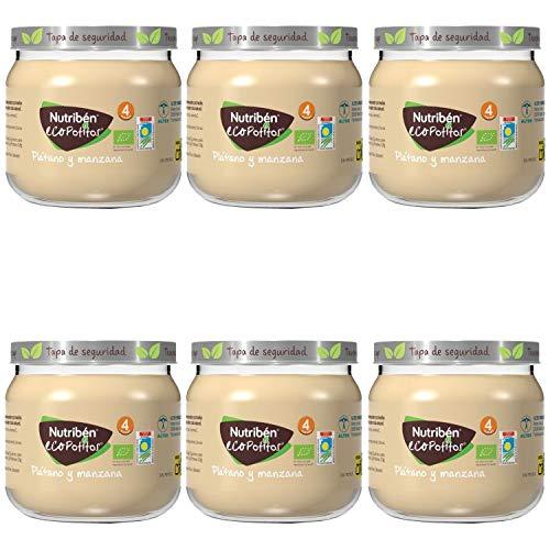 Nutribén Ecopotitos Introducción Al Plátano Y Manzana Des