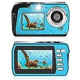 Appareil Photo Etanche 2.7K Appareil Photo étanche 48 MP Appareil Photo Numérique HD Double écran...