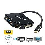 CableDeconn - Adaptateur multiport USB-C de type C 3.1 (compatible avec...