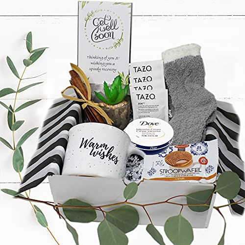 Get well soon gift for women | Care Package gift basket for...
