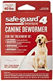 Safe Guard treats against Tapeworms, Roundworms, Hookworms, and Whipworms Easy to feed granules that mix into food Safe for young puppies over the age of 6 weeks, pregnant dogs, and heartworm infected dogs Must be administered for 3 consecutive days ...