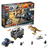 LEGO- Jurassic World-Le Transport du T. rex-75933-Jeu de Construction, 75933, Autre, Norme