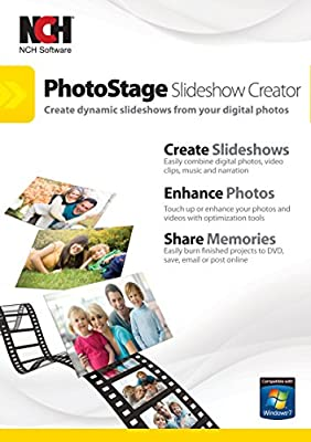 Share your memories with a multimedia slideshow quickly and easily Easily combine pictures, video clips, music and narration Burn to DVD, share online or save to a portable device Includes zoom, crop, fade, panning, zooming and more to bring your pho...