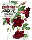 Gardening Journal 2019 - 2020: Gardening journal log book as a garden journal and planner, 100 pages, plant record pages and dot grid bullet pages, ideal for gardening planner, log and inspiration