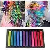 Craie de Cheveux,Coloration Temporaire Cheveux Craie,Teinture Cheveux,Temporaire...