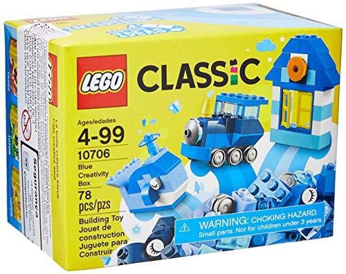 LEGO Classic Blue Creativity Box 10706 Building Kit