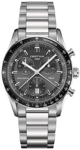 Certina Herren-Armbanduhr XL Chronograph Quarz Edelstahl C024.447.11.081.00