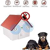 FlyBanboo Anti Barking Device, Sonic Bark Deterrents, Ultrasonic Bark Control, Waterproof,Outdoor use, Hidden Anti-Barking Device Pet Trainer, Bark Control