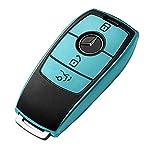 【メルセデスベンツと互換性があります】A C E S G CLS GLE GLC GLSクラス(年の一部)などとの互換性があります。車のフォブケースはあなたの車のキーにオリジナルの車のロゴをカバーしません。各車種 写真通りで鍵の形状が合えば取付可能になります。 【高品質TPU素材】ケースが柔らかくて、キーケースの形を綺麗に保ちつつ、柔軟なTPU素材で防塵、耐衝撃、高級感ある仕上がりとなっています。つや消しの質感があります。 【完全保護】この重要なフォブケースは、あらゆる側面の完全保護を実現しまし...