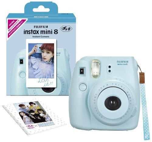 FUJIFILM インスタントカメラ チェキ instax mini 8 ブルー INS MINI 8 BLUE N