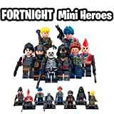 New Battle Royal Toy Figures Set- Heroes from Fort Battle Royal- Gift for Boys and Girls (New 8 Heroes)