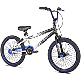 Kent 20' Ambush BMX Boy's Bike, Blue, for Height Sizes 4'2' and Up