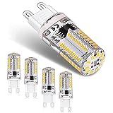Ampoule LED G9,3W LED Lampe Equivalent à 30W Halogène Lumière,300LM...