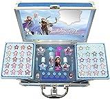 Markwins Frozen Ii Princess Makeup Traincase - Set Di Makeup Per Ragazze - Una Selezione Di Prodotti Sicuri In Una Valigetta Per Makeup Di Colore Azzurro E In Taglia Unica - 806 g