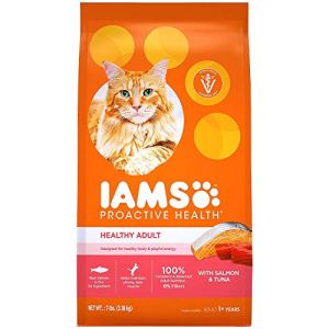 Iams Proactive Health Adult Original With Salmon And Tuna Dry Cat Food 7 Pounds