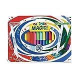 Carioca Stereo Magic20 Marqueurs effaçables spéciaux Encre de couleur...