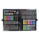 Artista Dibujo Juegos de Arte Arte Boceto Deluxe Box Set - Arte y artesanía encuentra en una caja de madera for la pintura y la pintura, 168 piezas, de múltiples colores conjunto del arte de regalo fo