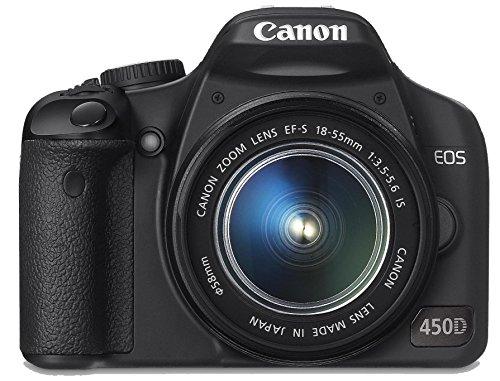 Canon EOS 450D SLR Fotocamera Digitale Reflex 12.2 Megapixel + Kit EF-S 18-55 mm IS f/3.5-5.6 non USM (Ricondizionato Certificato)