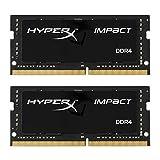 HyperX Impact DDR4 HX426S15IB2K2/32 Mémoire RAM 2666MHz CL15 SODIMM 32Go...