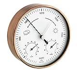 TFA Dostmann Station météo analogique pour intérieur et extérieur, résistant aux...