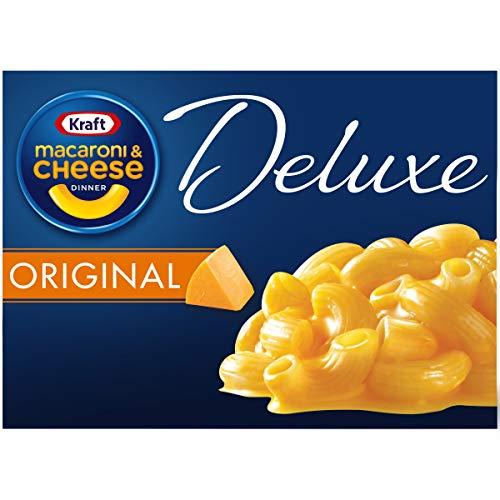 Kraft Mac & Cheese Deluxe Dinner - 14 oz