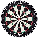 DMI Sports Bandit Staple-Free Bristle Dartboard with...