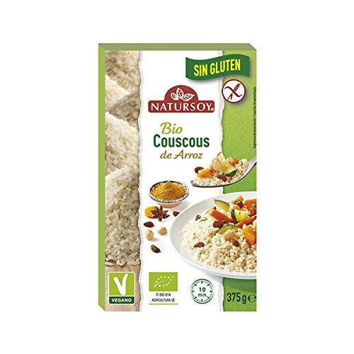 Natursoy Cous Cous Con Arroz Sin Gluten 375 Gramos Envase -