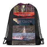 LREFON Teen Wolf - All Seasons Sport Bag Gym Sack Mochila con cordón Paquete de cincha sólida