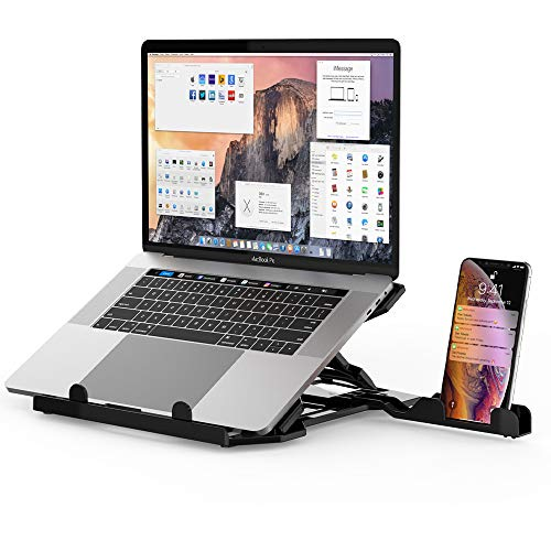 DQJMHSEN Laptop Stand Adjustable Laptop Computer Stand MacBook Pro Stand Aluminum Stand Laptop Riser...