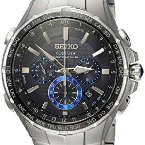 Coutura Men's Radio Sync Solar Chronograph Watch 3